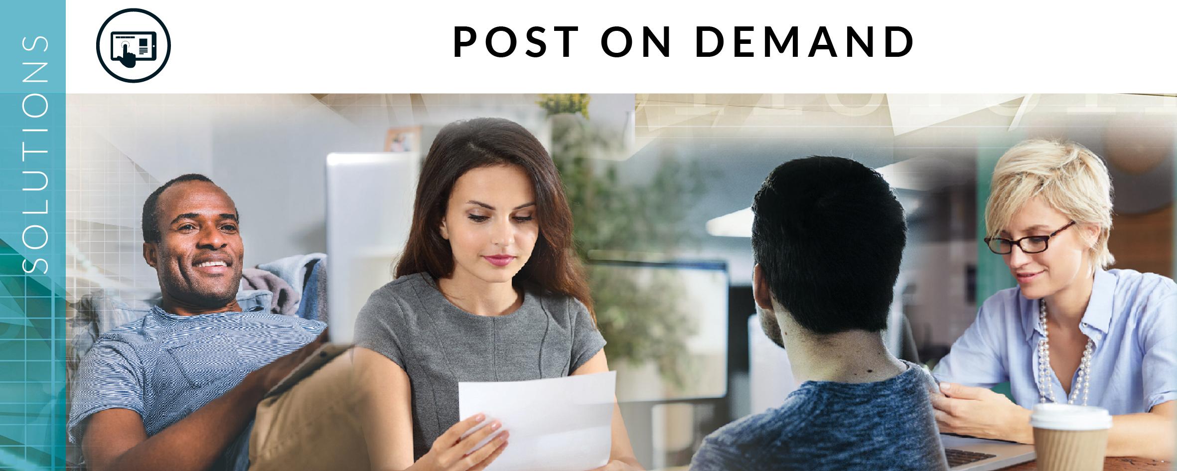 Post on Demand